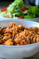 http://foodiefelisha.blogspot.com/2013/03/skillet-tomato-beef-rotini.html