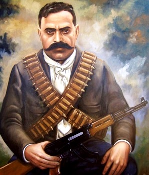 Dibujo de Emiliano Zapata