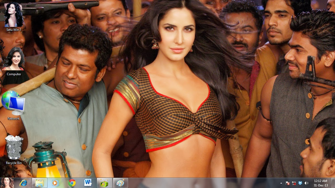 Windows XP Katrina Kaif Theme