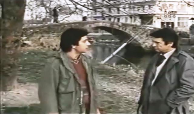 «Το Φράγμα» (1982) με τον Νίκο Κούρκουλο, γυρισμένη στην Έδεσσα (6 σκηνές)