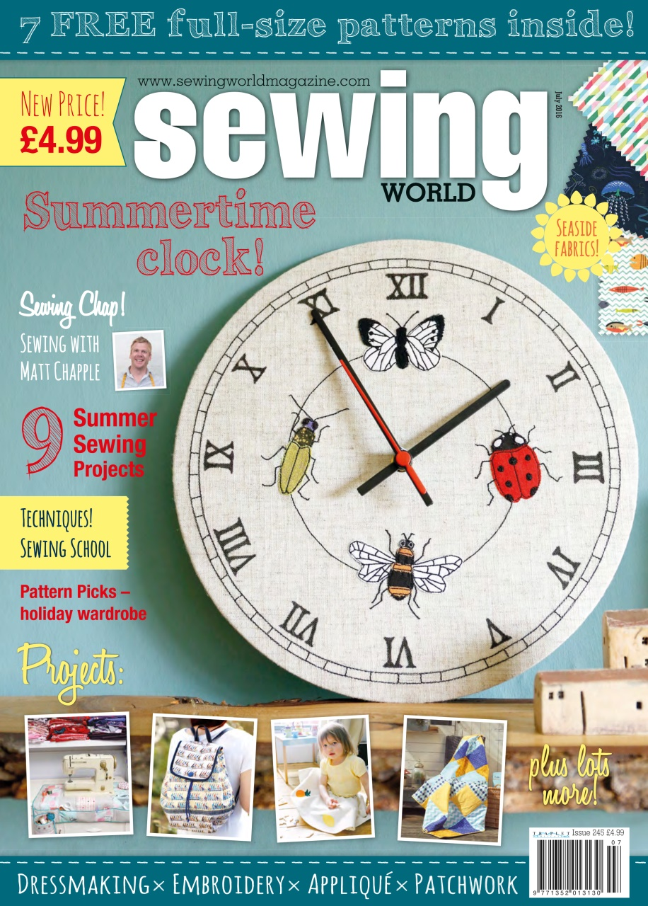 Sewing World July 2016