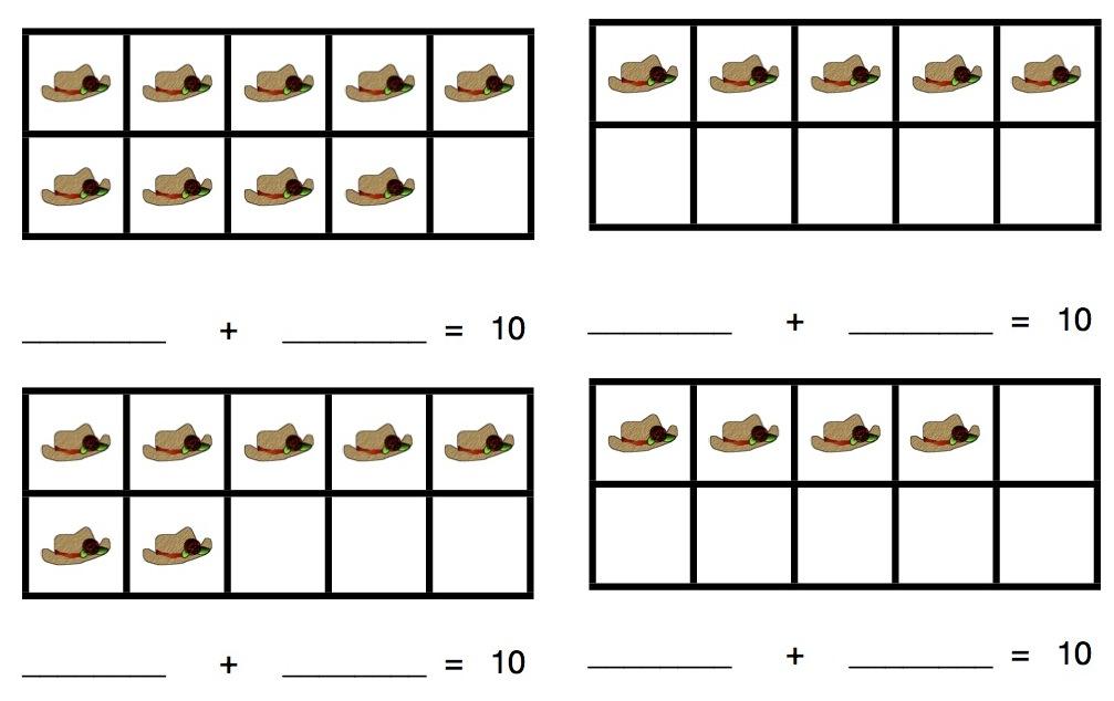addition ways to make ten worksheets addition worksheetsaddition worksheets for kindergarten. Black Bedroom Furniture Sets. Home Design Ideas