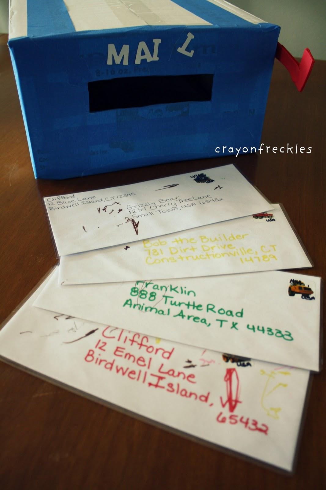 preschool mailbox crayon freckles you ve got mail preschool style 165