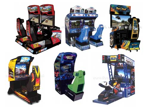 arcade driving machine