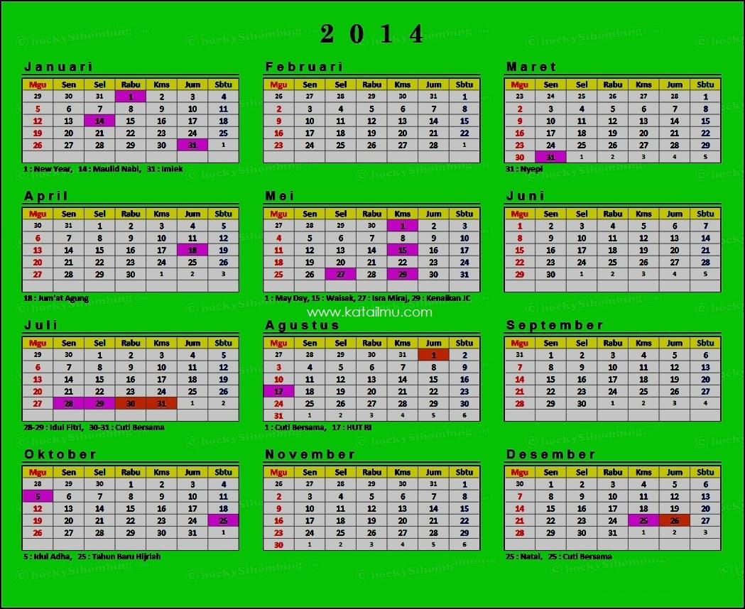 Template Kalender Tahun Baru 1434 Hijriah 2013 Masehi Free Download