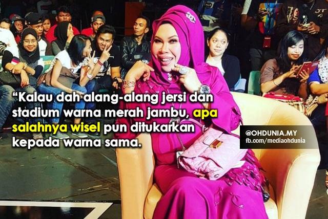 Dato' Seri Vida mahu pengadil guna wisel warna merah jambu