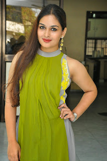 Actress Prayaga Martin Latest Picture Gallery at Pisachi Movie Success Meet 034.JPG