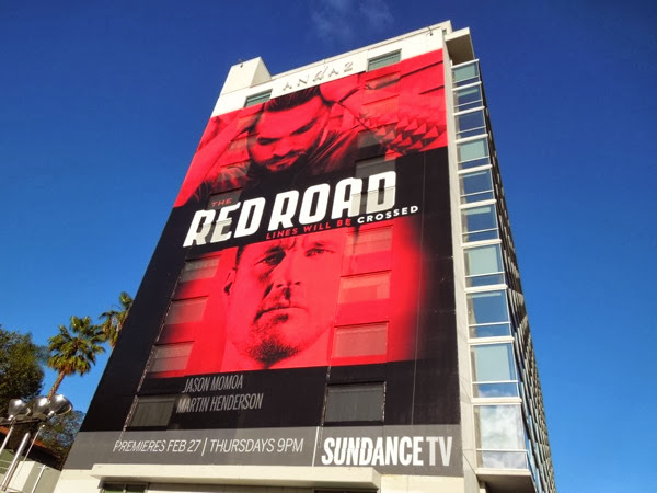 Red Road giant billboard