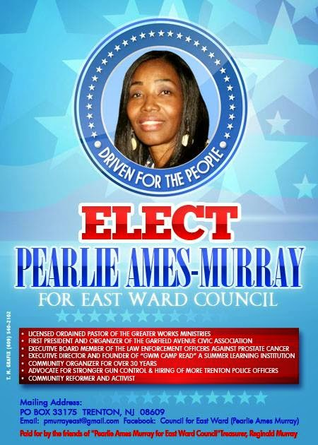 Pearlie Ames-Murray For East Ward Councilwoman