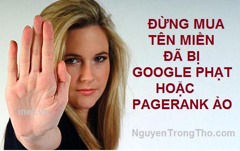 Mua tên miền đã qua sử dụng đừng chỉ nhìn vào PageRank