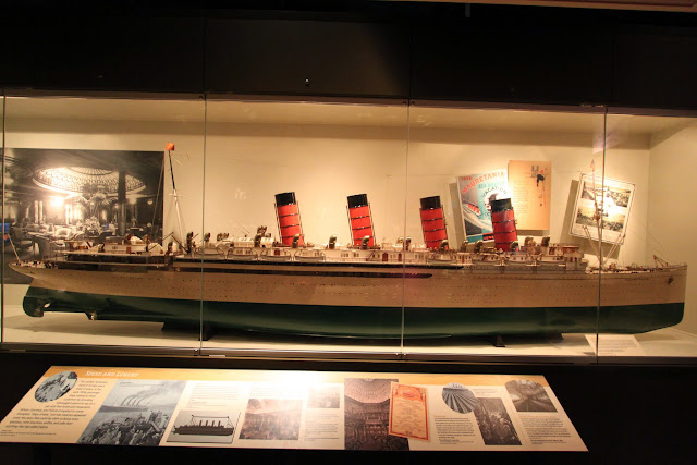 Historical Titanic ship model at National Museum of American History in Washington DC, USA