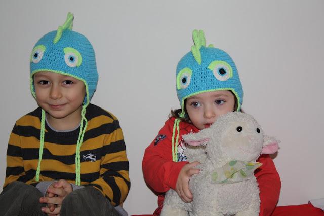 Hayvan Figürlü Şapka Modeli, Sevimli Şapka