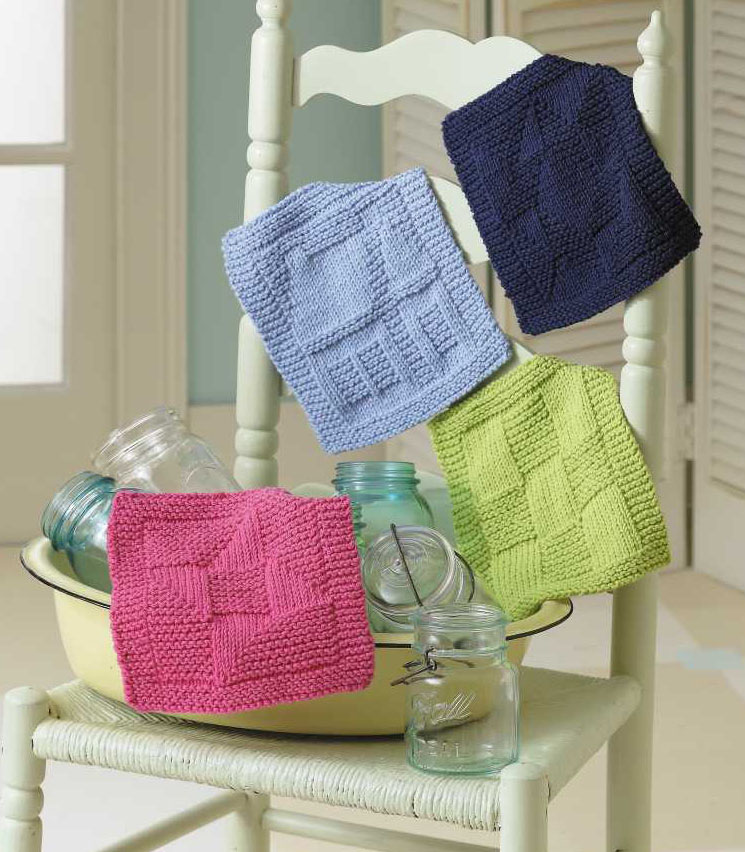 Knook Knitting Patterns : Everyday Life at Leisure: Knit Dishcloths   A New Pattern Book with Knook Ins...
