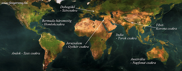 csakraterkep3 - A Föld csakrapontjai - A szívcsakra, Dobogókő a világ szemében
