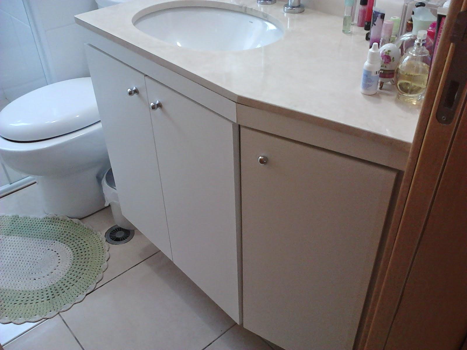 Planejados sob medida Gabinete para Banheiro CURVA -> Gabinete De Banheiro Sob Medida