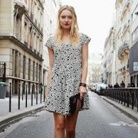 Rochie larga cu imprimeu pentru femei