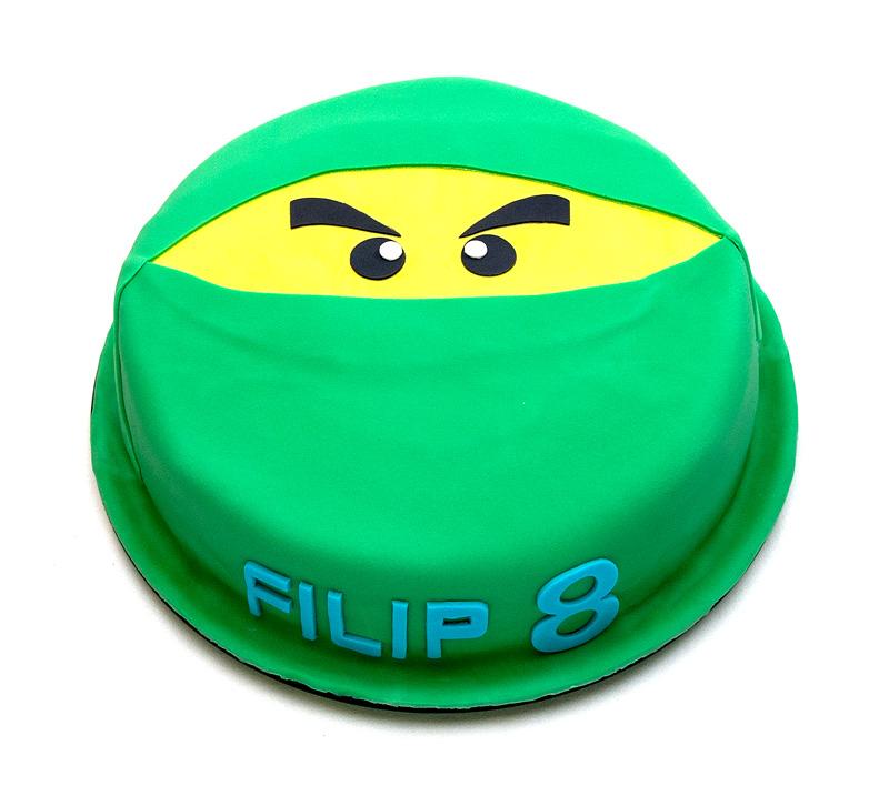 Lego Ninjago green cake
