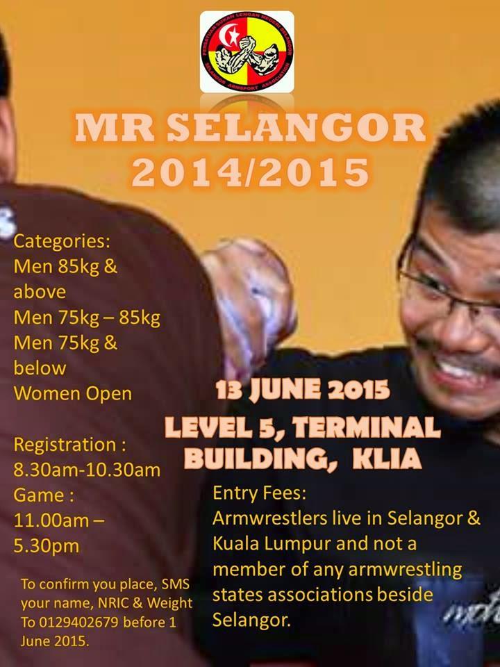 MR SELANGOR 2014/2015 , 13 JUN 2015