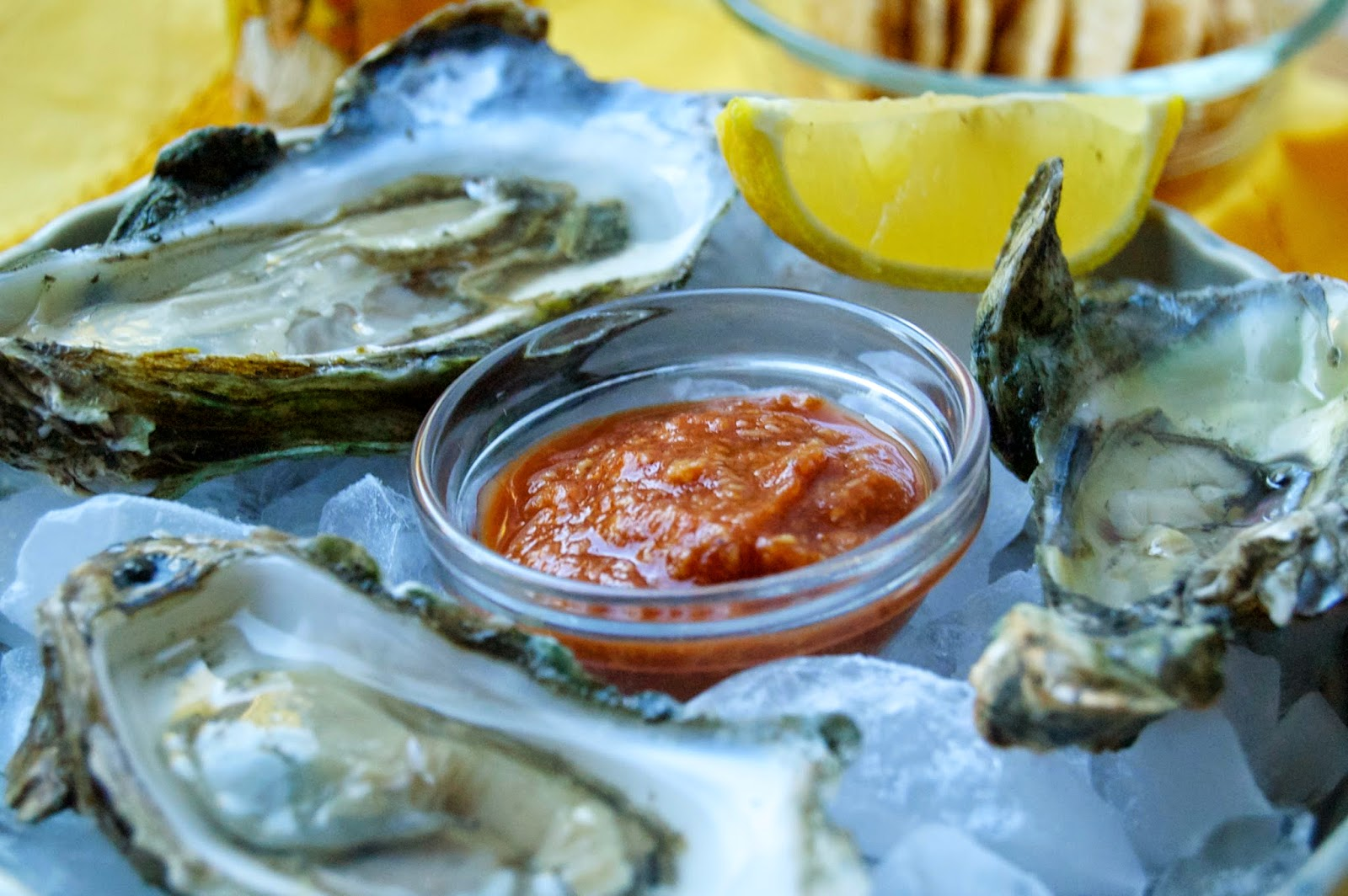 Happy Thanksgiving & Oyster Season in NC | www.kettlercuisine.com