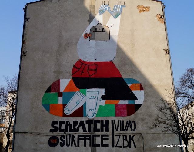 Warszawa Praga Północ warszawskie murale Korsaka