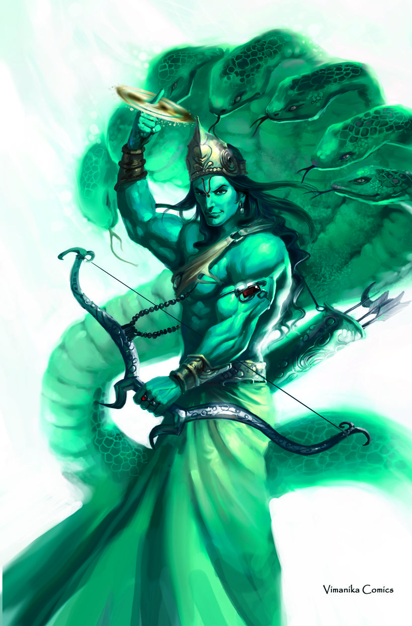 My Perceptions: Anish..... Lord Vishnu In Rudra Avaatar
