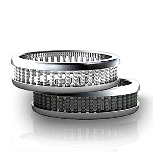 black wedding bands perfect choice for your marriage