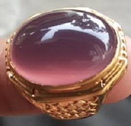 batu lavender, khasiat batu lavender, batu lavender ungu