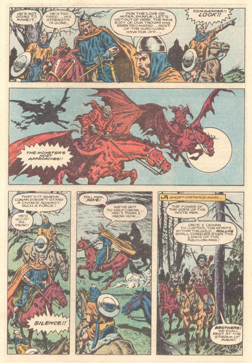 Conan the Barbarian (1970) Issue #183 #195 - English 9