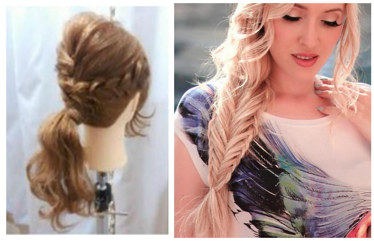 Trenzas bonitas y variadas para looks diferentes belleza - Trenzas peinados faciles ...