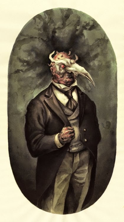 Lenka Simeckova deviantart ilustrações sombrias terror surreal