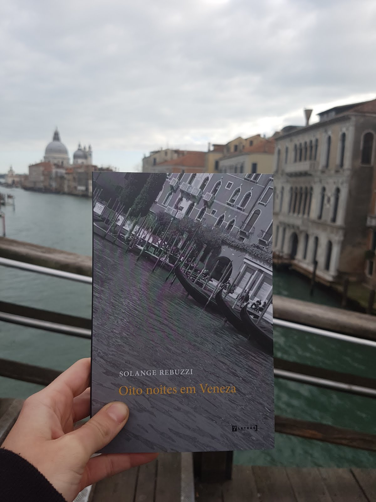 """Oito noites em Veneza"" em Veneza"