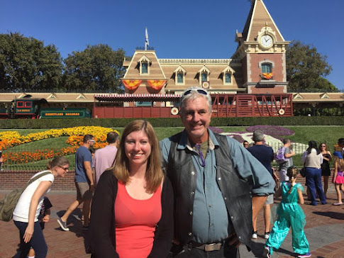 Disneyland with Dad