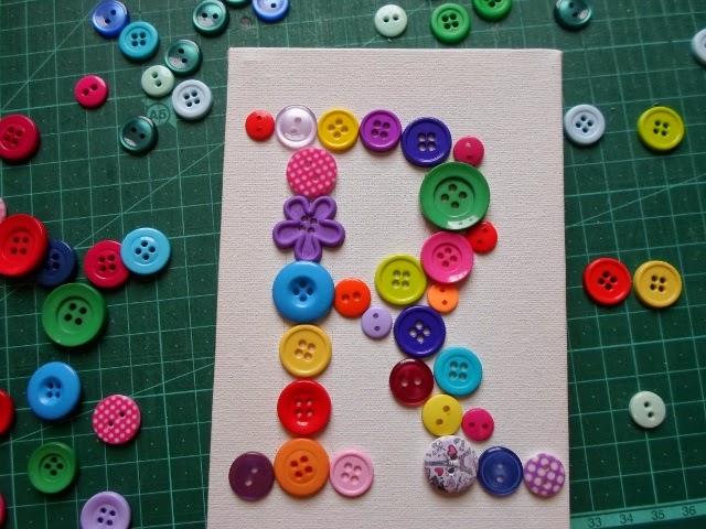 Faça você mesmo: Quadrinho de botões