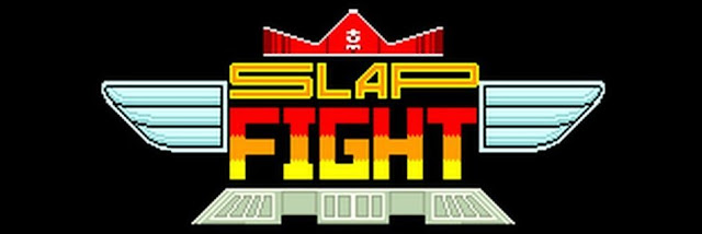 Slap Fight logo / title screen