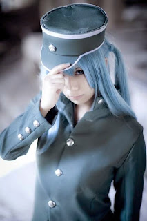Mikado cosplay as Vocaloid Miku 1925