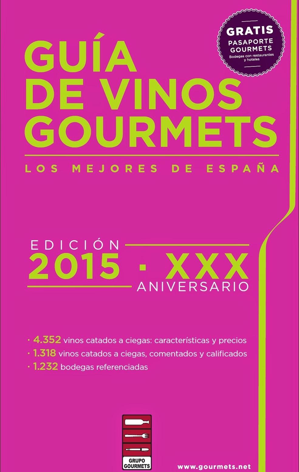 GUIA GOURMETS 2015