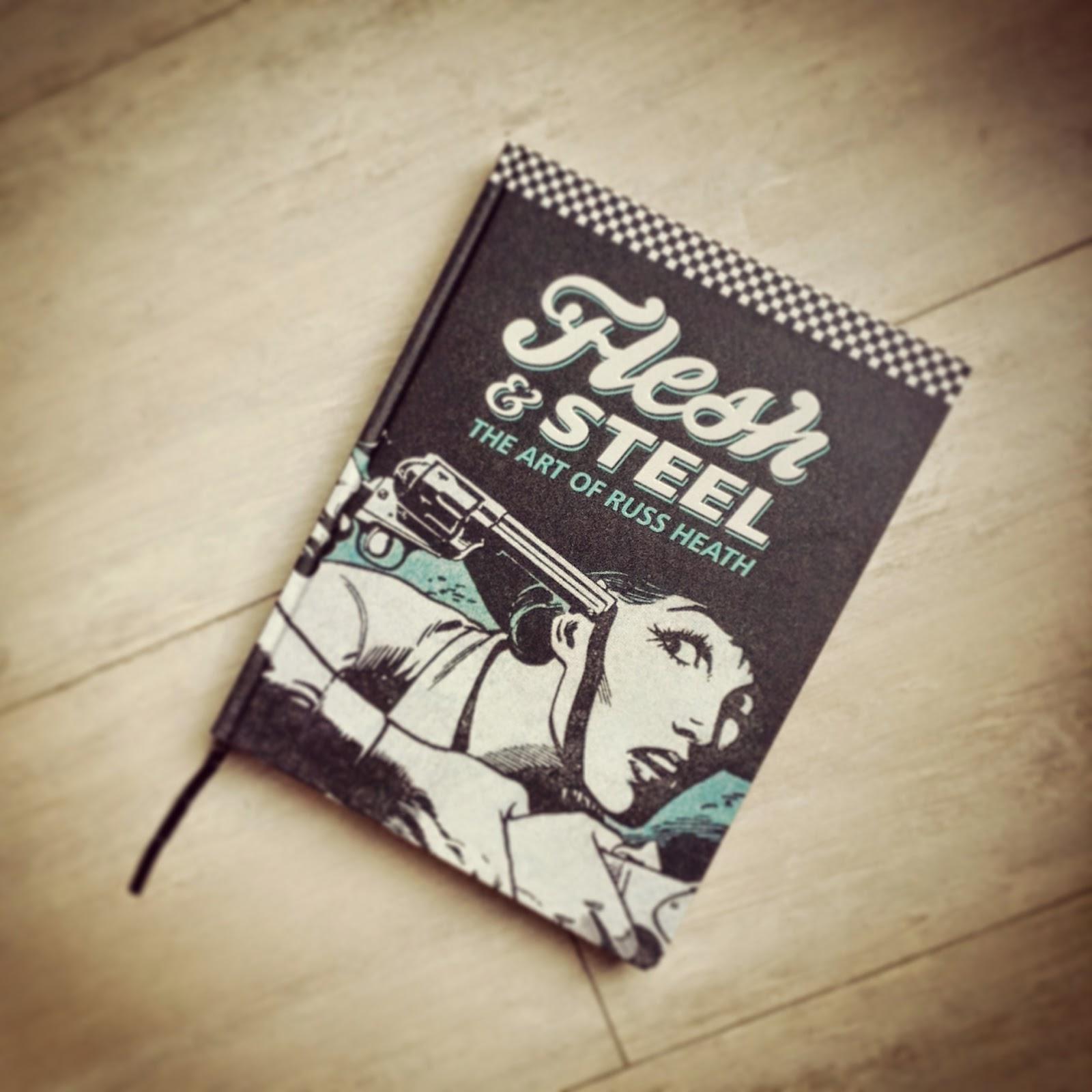 """la edición americana de """"Flesh&Steel, el arte de Russ Heath"""" editado por IDW"""