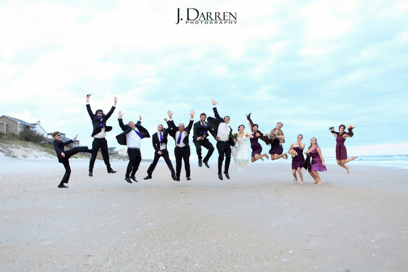 Topsail Island Beach Wedding NC Photography