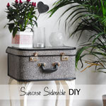 Suitcase Side Table Tutorial