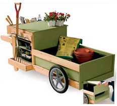gardening tool cart plans free woodworking plans