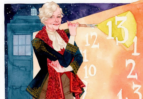 Helen Mirren, the 13th Doctor by Kevin Wada