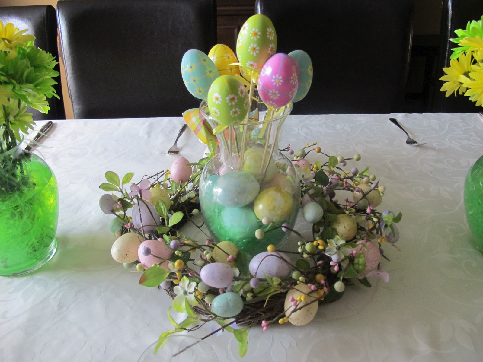 Mia cucina easter table decorations for Decoration de table