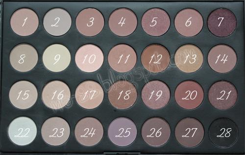 B e p e r f e c t e s paleta de 28 colores neutros - Paleta de colores neutros ...