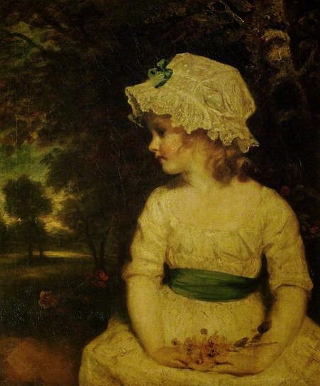 Miss Theophila Gwatkin as Simplicity by Sir Joshua Reynolds, 1785