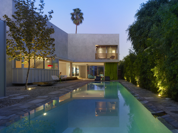 Norwich Drive Residence, West Hollywood, by Clive Wilkinson Architects (via Nest of Pearls)