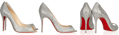 >now this is one Louboutin you should put on.