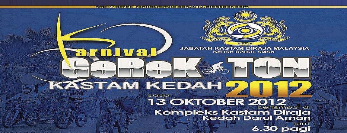 Gerek-Ton Kastam Kedah 2012