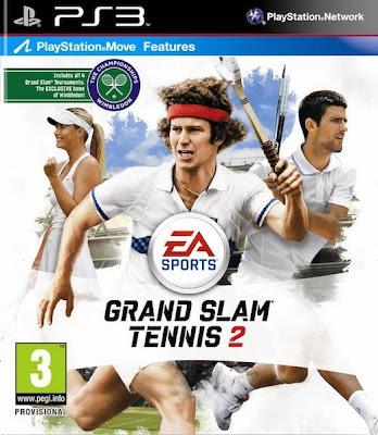 Grand Slam Tennis 2 ,Jogos PLAYSTATION 3