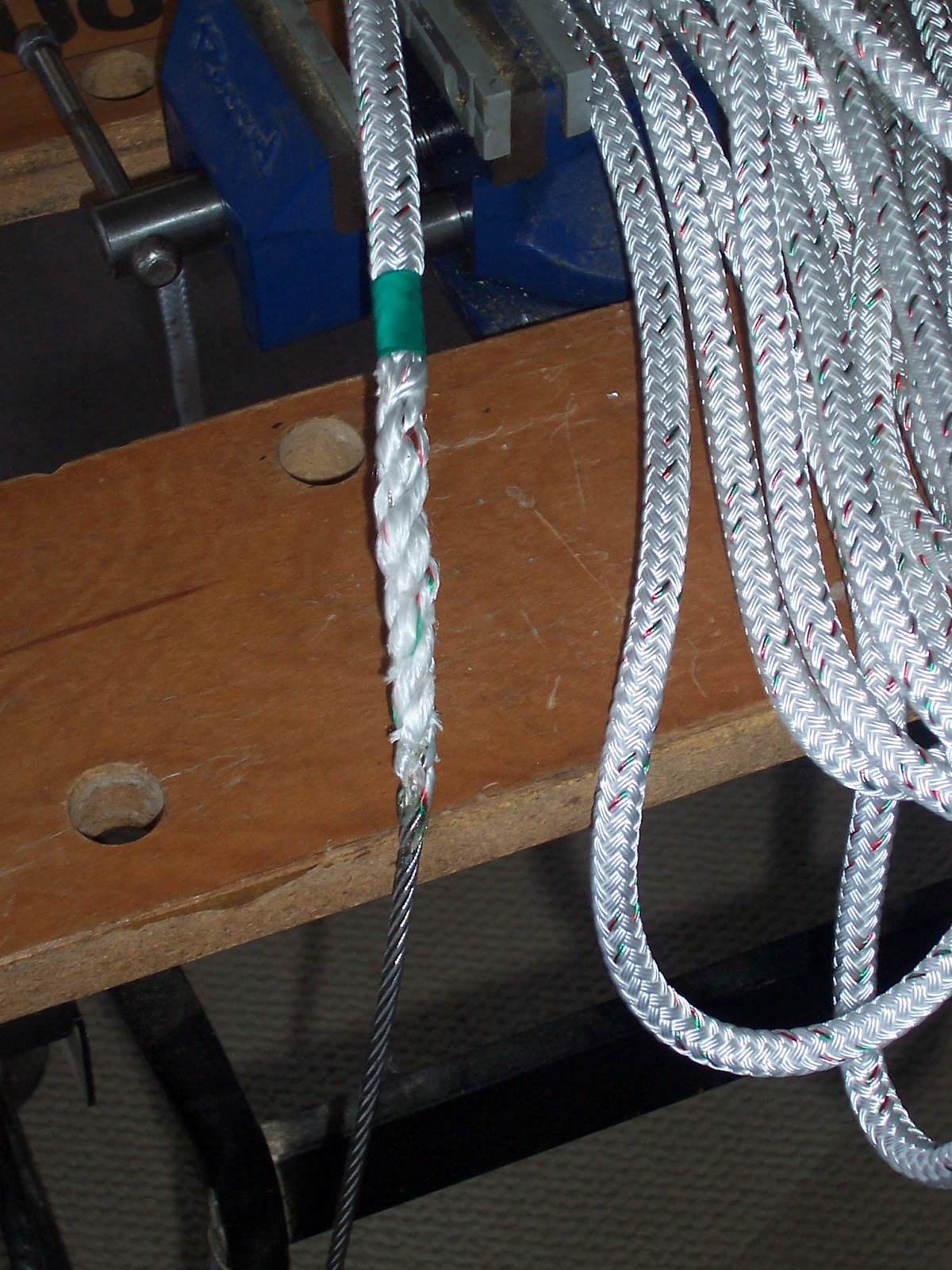 Phoenix\'s Flight: Replacing Wire-to-Rope Halyards