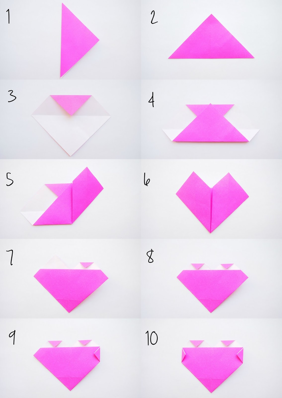 Origami Heart Free tutorial